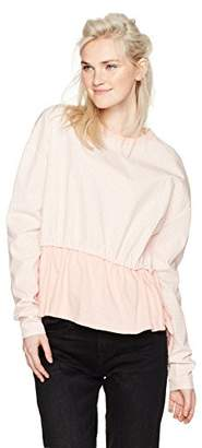 Camp Moonlight Women's Pull Tie Vichy Sweatshirt