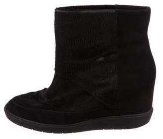 Vince Ponyhair Ankle Boots