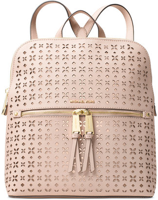 MICHAEL Michael Kors Rhea Zip Medium Slim Backpack $278 thestylecure.com