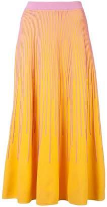 Derek Lam 10 Crosby Striped Knit Skirt