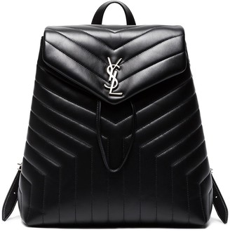 Saint Laurent Lou Lou Matelassé Leather Backpack