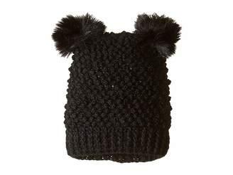 Tundra Boots Kids Double Pom Knit Hat