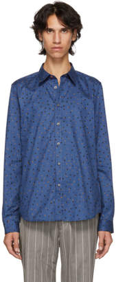 Paul Smith Blue Tailored Fit Shirt