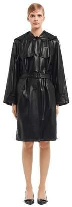 Prada Light Nappa Leather Trench Coat