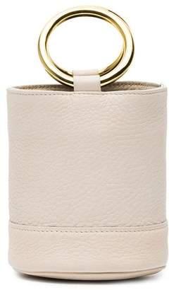 Simon Miller White Gold Bonsai 15 Mini Leather bucket bag