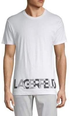 Karl Lagerfeld Logo Short-Sleeve Tee