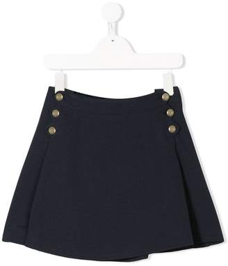 Chloé Kids side buttons skirt