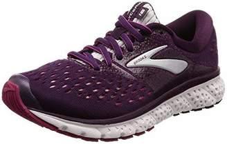 Brooks Women's Glycerin 16 D Running Shoe (BRK-120278 1D 40807D0 11 BLK/PNK/Gry)