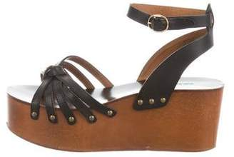 Etoile Isabel Marant Leather Ankle Strap Sandals