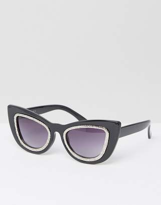 AJ Morgan Cat Eye Sunglasses $19 thestylecure.com