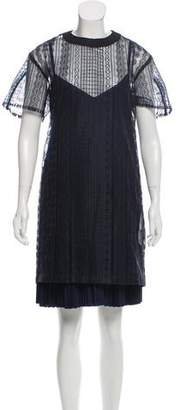 Sacai 2017 Embroidered Dress w/ Tags