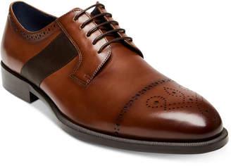 Steve Madden Men Comeback Cap-Toe Leather Oxfords Men Shoes
