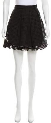 Yoana Baraschi Flared Mini Skirt