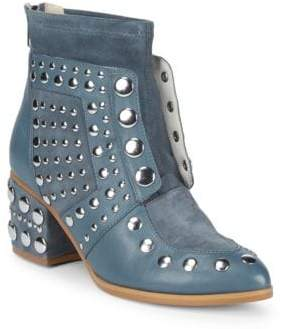 Cecelia New York Studded Leather Booties