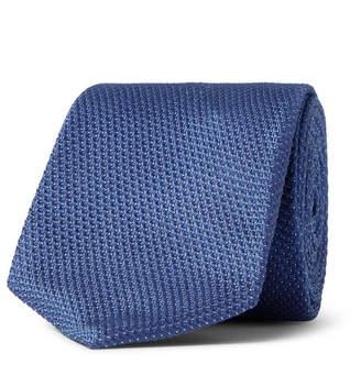 HUGO BOSS 6cm Pin-Dot Silk-Jacquard Tie