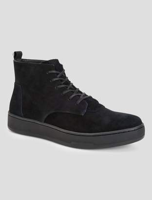 Calvin Klein suede lace-up boot