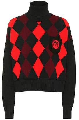 Miu Miu Virgin wool turtleneck sweater