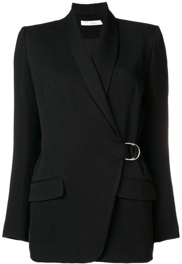Iro wrap-front blazer