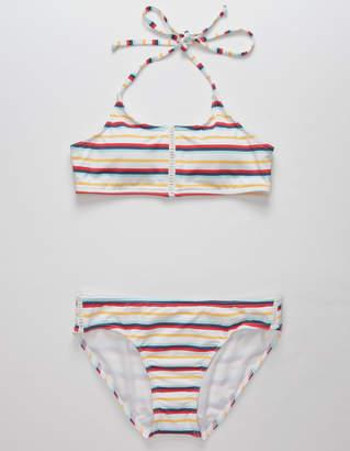 Full Tilt Stripe Girls Bikini Set