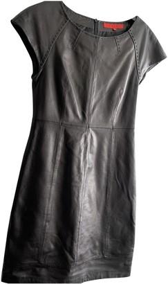 Hallhuber Black Leather Dress for Women