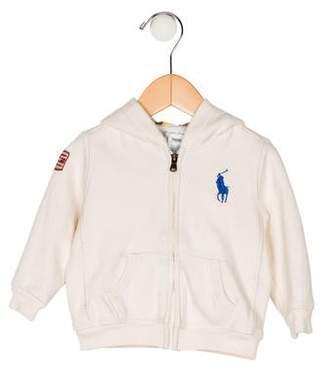 Ralph Lauren Boys' Zip-Up Hooded Jacket