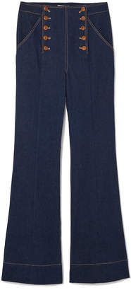 Ulla Johnson Ashton Button-Front Jeans