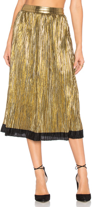 House of Harlow x REVOLVE Luna Midi Skirt $158 thestylecure.com