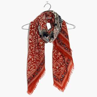 Madewell Paisley Square Scarf