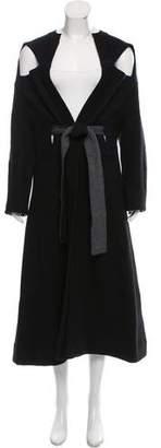 Tome Wool Longline Cardigan w/ Tags