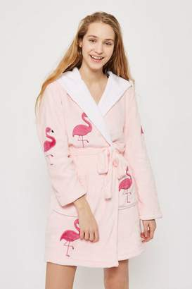 Topshop Flamingo Novelty Robe