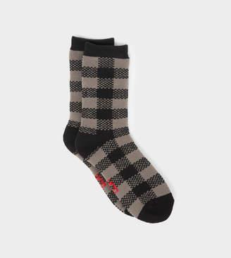 UGG Randall Check Crew Sock