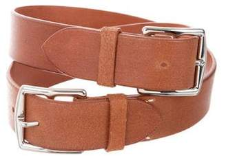 Hermes Etriviere 32mm Double Buckle Belt