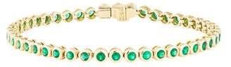 Anita Ko 18K Emerald Tennis Bracelet