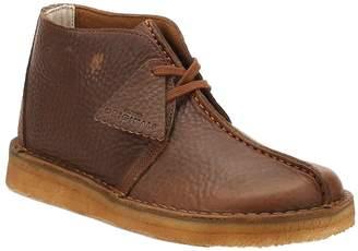 Clarks Mens Leather Desert Trek Boots-UK 10