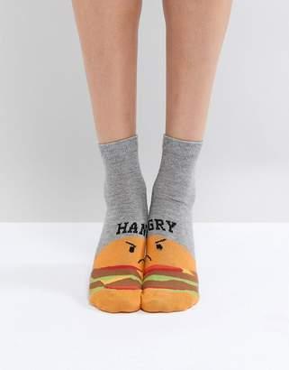 Asos Design Hangry Ankle Socks