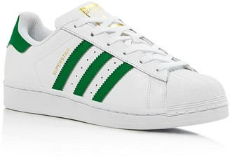 Adidas Women's Superstar Foundation Lace Up Sneakers $80 thestylecure.com