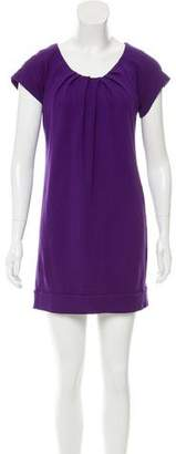 Diane von Furstenberg Short Sleeve Mini Dress