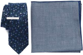 The Tie Bar Floral Acres 3-Piece Skinny Tie Style Box