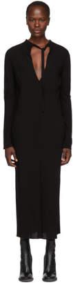 Haider Ackermann Black Durero Dress