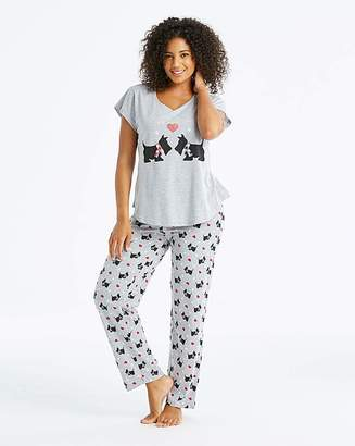 Pretty Secrets Short Sleeve Pyjama Set