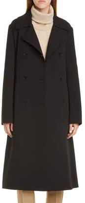 Lafayette 148 New York Marjorie Wool Trench Coat