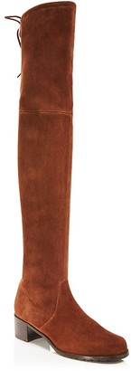 Stuart Weitzman Midland Over The Knee Boots $798 thestylecure.com