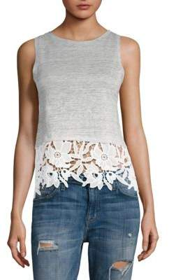 Generation Love Mila Lace Trim Tank Top