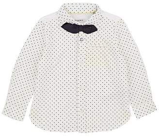 Ikks Infants' Dot-Print Cotton Button-Down Shirt