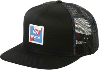 cfb5d595 RVCA VA All The Way Trucker Print Hat