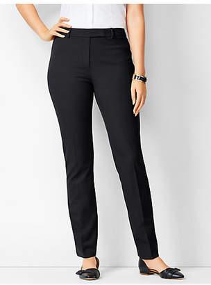 Talbots Bi-Stretch High-Waist Straight-Leg - Curvy Fit