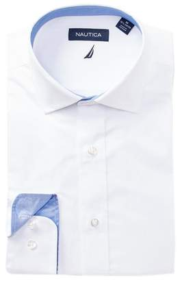 Nautica Pinpoint Classic Fit Dress Shirt
