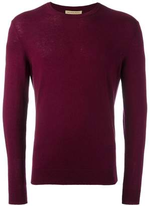 Burberry elbow patch jumper