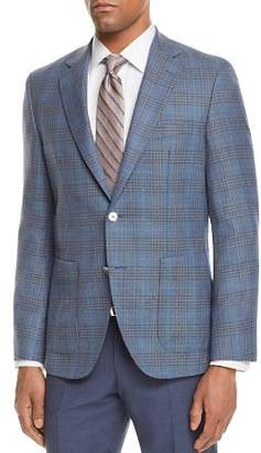 BOSS Janson Regular Fit Windowpane Plaid Sport Coat