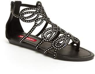 UNIONBAY Lindy Women's Rhinestone Gladiator Sandals